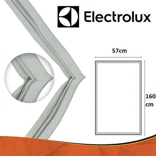 Gaxeta Borracha Porta Refrigerador Electrolux R360 160x57 Aba Dupla