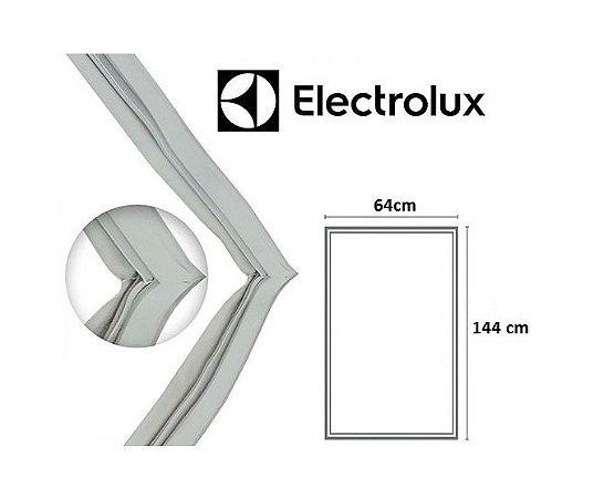 Gaxeta Borracha Porta Refrigerador Electrolux R34 144x64 Aba Dupla