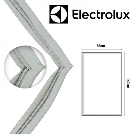 Gaxeta Borracha Porta Refrigerador Electrolux R310 R31 139x57 Aba Dupla