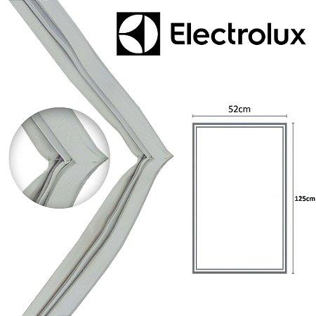 Gaxeta Borracha Porta Refrigerador Electrolux R250 125x52 Aba Dupla
