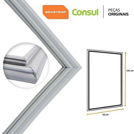 Gaxeta Borracha Porta Refrigerador Consul 131x52 CRA28 CRA30