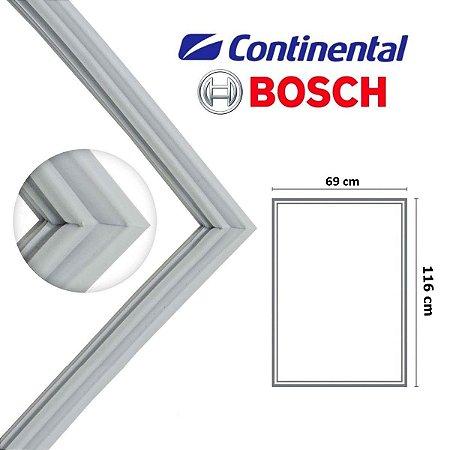 Gaxeta Borracha Porta Refrigerador Continental Inferior Rsv47 Kdn42/43 Kdv44/47/49 116x69
