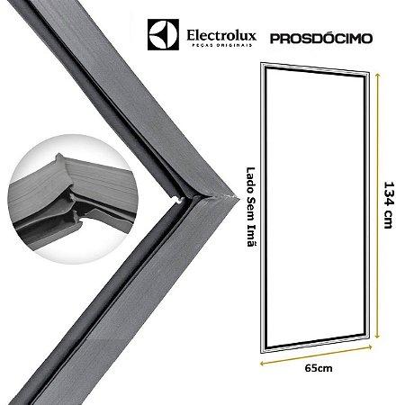 Gaxeta Borracha Porta Refrigerador Electrolux Prosdócimo 340l Antiga 3 Imãs 134x65