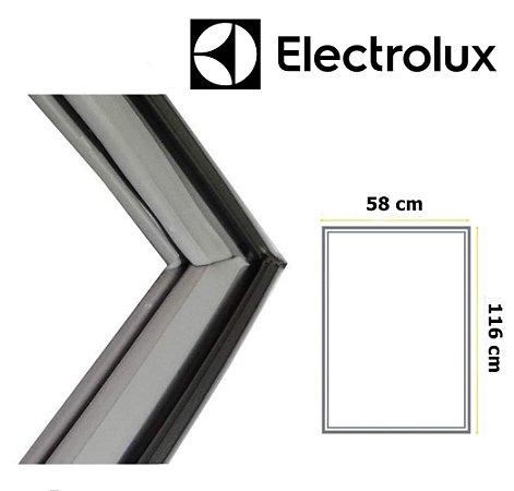 Gaxeta Borracha Porta Refrigerador Electrolux Dc38 Df36 116x58 Inferior