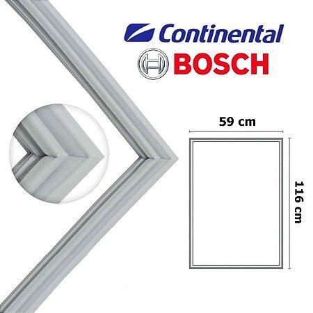 Gaxeta Borracha Porta Refrigerador Continental Bosch Kdn Kdv 116x59 Inferior