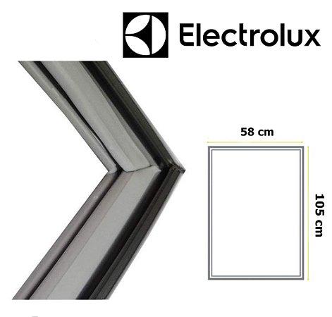 Gaxeta Borracha Porta Refrigerador Electrolux DF34 DC34 105x58 Inferior