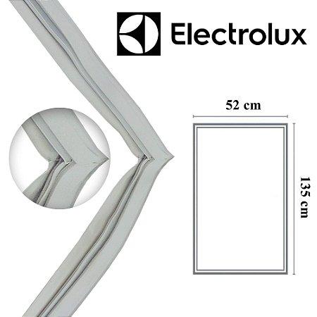 Gaxeta Borracha Porta Refrigerador Electrolux R27 F21 135x52 Aba Dupla