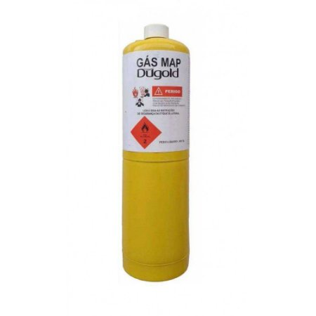 Refil para Maçarico Portátil Gás MAPP PRO 400G DUGOLD