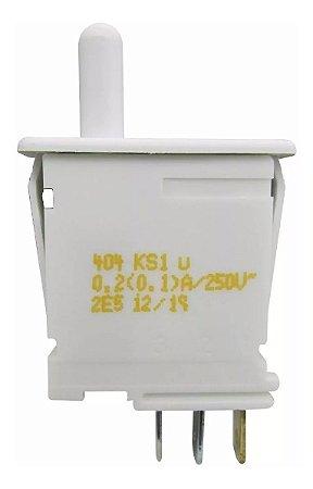 Interruptor Lâmpada Central Geladeira Bosch Kdn42 Kdn43 Kdn44 Kdn46