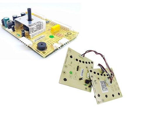 Placa Potência + Interface Pressostato lavadora Electrolux LBU15 70200963 70200964 Original