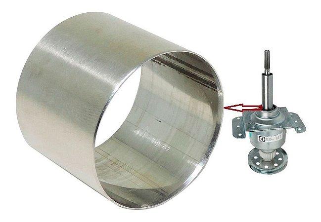 Bucha de Inox Tubo 30mm Lavadoras Electrolux Brastemp Consul Colormaq