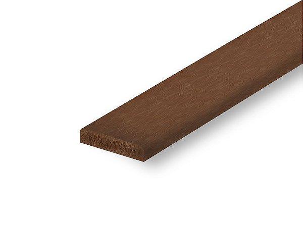 Perfil de madeira plástica nogueira - Policog