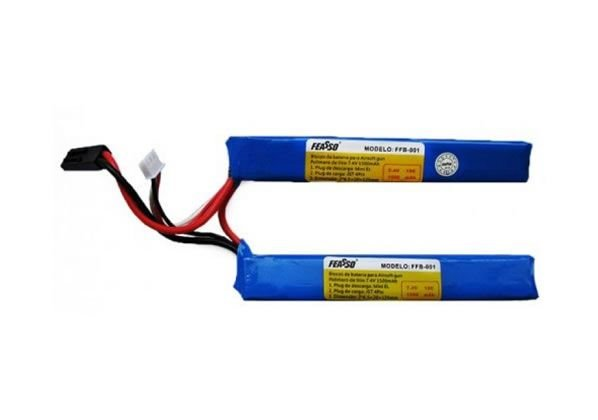 Bateria lipo 7.4v 1500mAh FEASSO