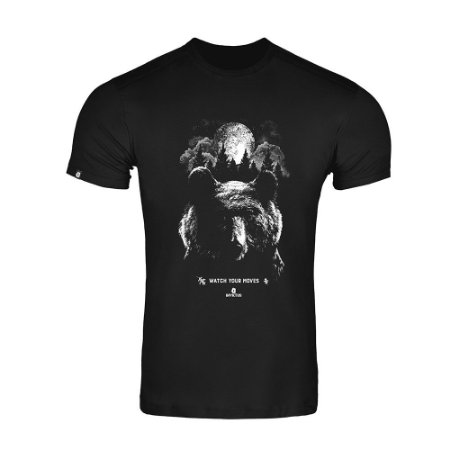 Camiseta Concept Black Bear
