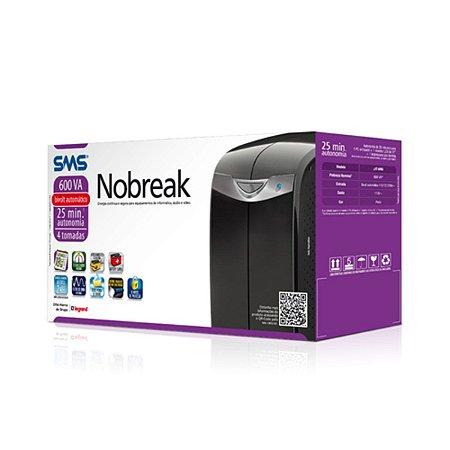 Nobreak   SMS / Net Station (uST 600Bi) Preto