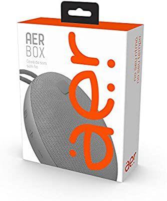 Caixa de Som sem Fio com Bluetooth Aerbox