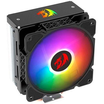 Cooler Processador Redragon Effect Cc-2000 Led Rgb Intel/amd