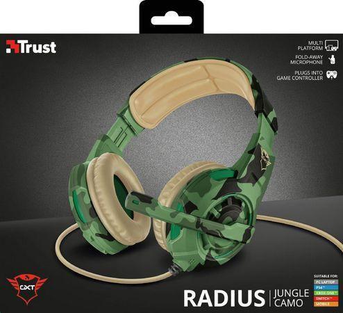 Headset Gamer Trust GXT 310C Radius