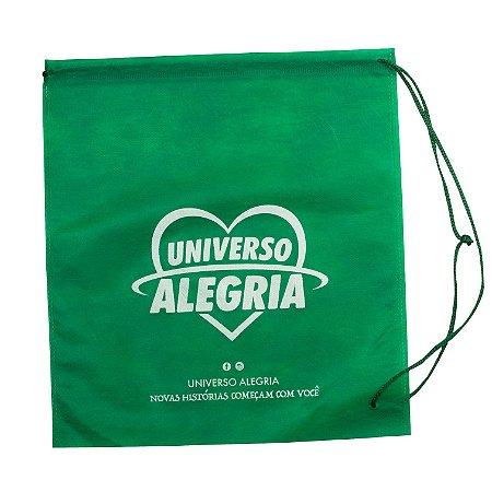 Sacola Universo Alegria - Verde