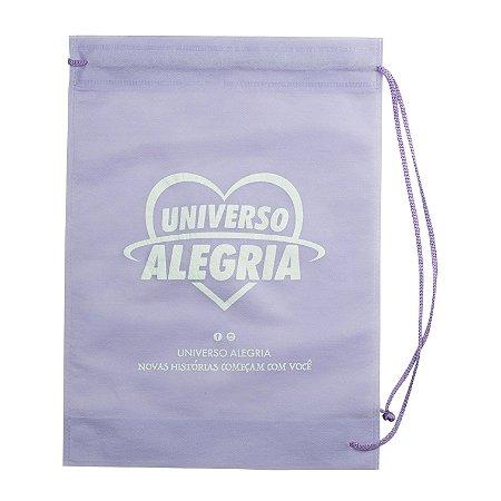 Sacola Universo Alegria - Lilás
