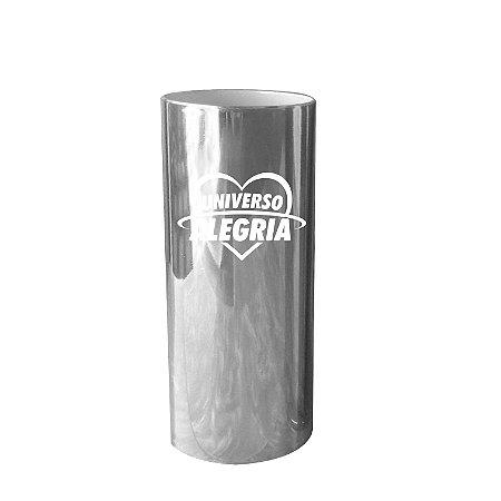 Copo Long Drink Universo Alegria - Prata