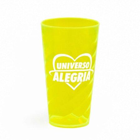 Copo 500ml Amarelo Neon