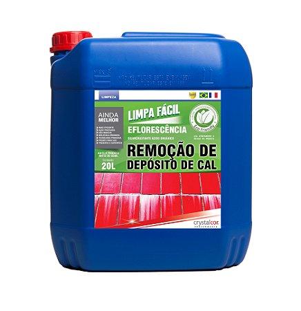 Limpa Fácil Eflorescência Remoção de Deposito de Cal 20 litros - Performance Eco