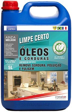 Limpe Certo Óleos, Graxas e Gorduras 5 Litros - Performance Eco