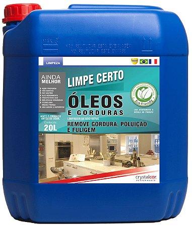 Limpe Certo Óleos, Graxas e Gorduras 20 Litros - Performance Eco