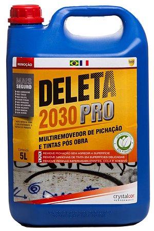 Deleta 2030 PRO - Removedor de Pichação e Tintas Pós Obra 5 Litros - Performance Eco