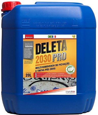 Deleta 2030 PRO - Removedor de Pichação e Tintas Pós Obra 20 Litros - Performance Eco
