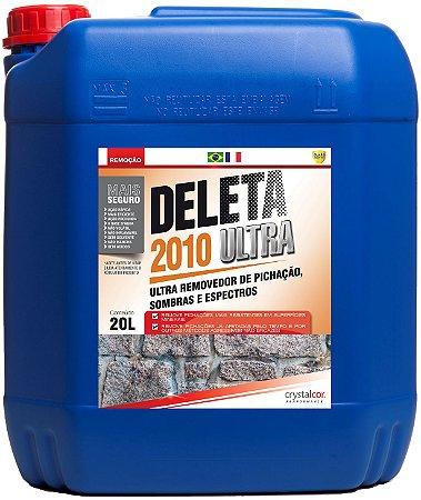 Deleta 2010 Ultra - Removedor de Pichação, Sombras e Espectros 20 Litros - Performance Eco