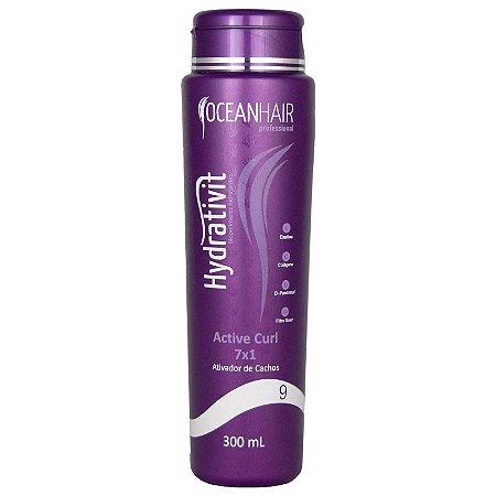 Ativador de cachos 7x1 Hydrativit 300ml - Ocean Hair