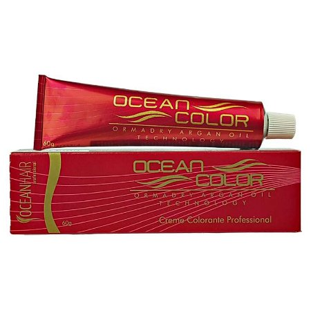 Creme Colorante Tintura Profissional 8.89 Louro Claro Perolado 60g - Ocean Hair