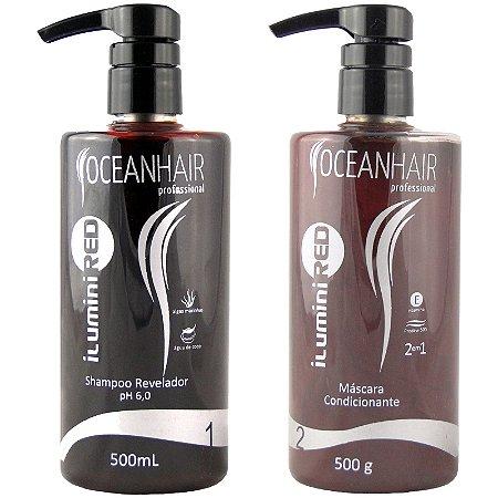 Ilumini Red Matizador de Tons Vermelhos 500ml - Ocean Hair