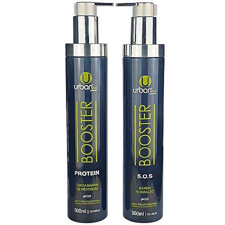Kit Booster Maxíma Protein Reparação 2x300ml - Urban Eco