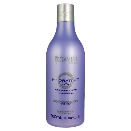 Loção Onduladora Wave Curly Ocean Hair 500ml - Ocean Hair
