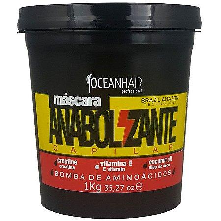 Máscara Anabolizante Capilar Bomba Aminoácidos 1kg - Ocean Hair