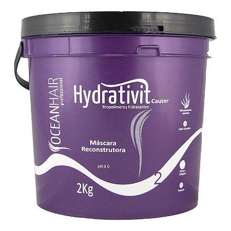 Máscara Hydrativit Biopolimeros Hidratantes PH 3.0 2Kg - Ocean Hair