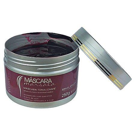 Máscara Marsala Hidratante Tonalizante Tons Vinhos 250g - Ocean Hair