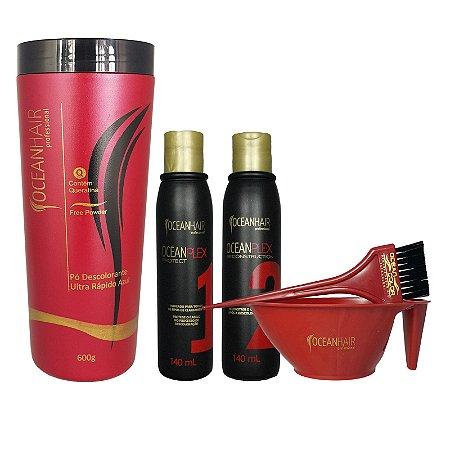 Pó Descolorante Ultra 600g + OceanPlex 2x140ml - Ocean Hair