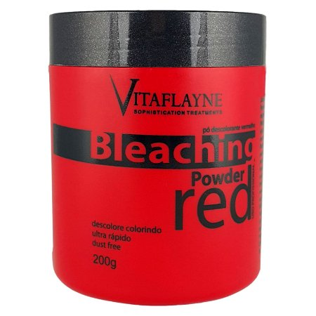 Pó Descolorante Vermelho Ultra Rápido Powder Red 200g - Vitaflayne