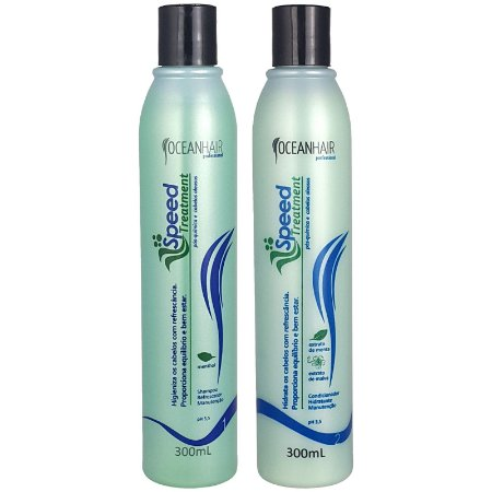 Shampoo e Condicionador Anti Caspa Speed Treatment 2x300ml - Ocean Hair