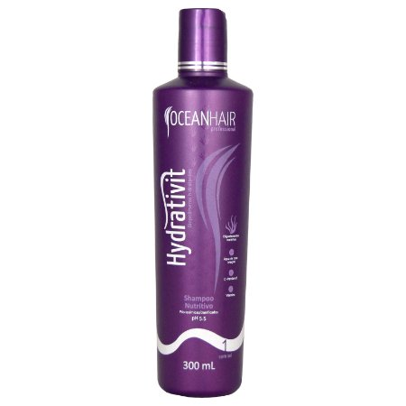 Shampoo Nutritivo Hydrativit Homecare 300ml - Ocean Hair