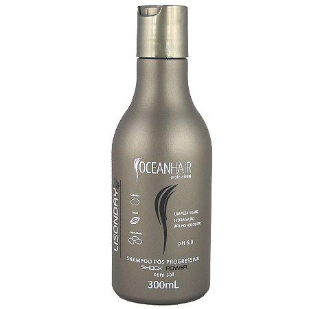 Shampoo Pós Progressiva Lisonday Shock Power 300ml - Ocean Hair