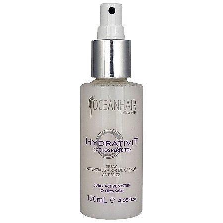 Spray Potencializador  de  Cachos Antifrizz 120ml Ocean Hair