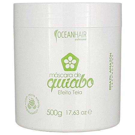 Máscara Efeito Teia Quiabo 500g - Ocean hair