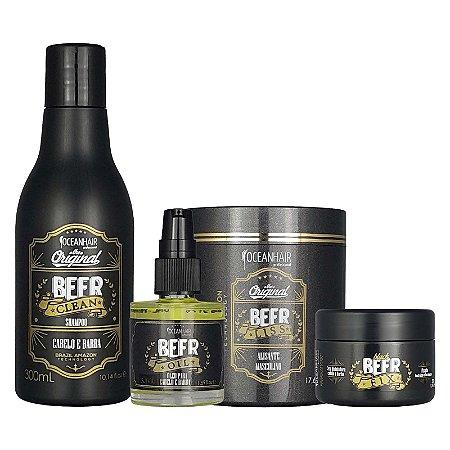 Kit Tratamento Cabelo e Barba The Original Beer - Ocean Hair