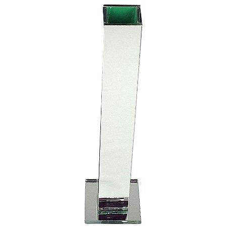 Vasos Solitário Espelhado Decoração Festa Casamento 25 x 3,5 x 3,5 cm - VEG