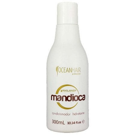 Condicionador Hidratante Mandioca 300 ml Brazil Amazon Ocean Hair